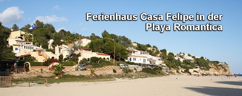 Ferienhaus Casa Felipe Playa Romantica